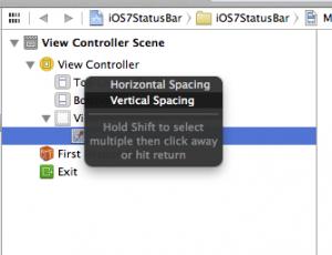 Select Vertical Spacing