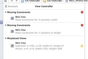 Missing Constraints