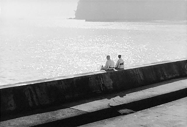 Film still from Yasujiro Ozu's Tokyo Story
